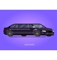Luxury limousine car vector image