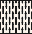 monochrome seamless striped pattern black and vector image vector image