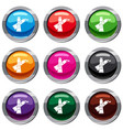 oil paints set 9 collection vector image vector image