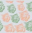 seamless pattern made brushp vector image