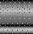 Abstract Dotted Metal Background Design vector image