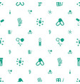 antibiotic icons pattern seamless white background vector image vector image