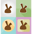 ice cream flat icons 06 vector image vector image