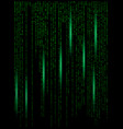 matrix digital background beautiful banner vector image vector image
