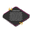 quote box vector image vector image