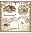 Cocoa fair trade set vector | Price: 1 Credit (USD $1)