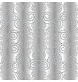 dotted silver 3d seamless pattern vector image