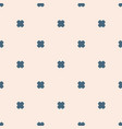 minimalist geometric floral seamless pattern pale vector image