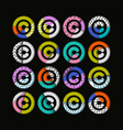 copyright creative abstract modern background vector image