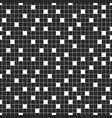 creative seamless mosaic square pattern dark vector image