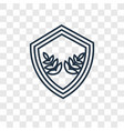 emblem concept linear icon isolated on vector image