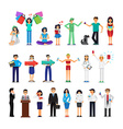 People of different occupations vector image