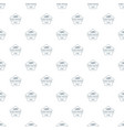 pure water pattern seamless vector image vector image