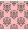 seamless damask vintage pattern design vector image