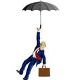 umbrella vector image vector image