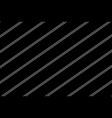 white lines on a black background vector image vector image