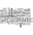 why and how to track traffic of your website text vector image vector image