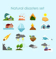 collection of color icons vector image
