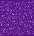 empty-snow-texture-violet vector image vector image