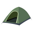 outdoor camping tent sunshade canopy single item vector image