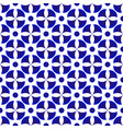 blue and white modern pattern vector image vector image