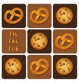 CookiePretzel vector image vector image