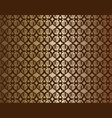 copper linked background vector image