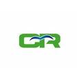 CP logo vector image vector image
