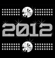 Diamond numbers 2012 means happy new year vector | Price: 1 Credit (USD $1)