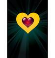 heart 06 vector image vector image