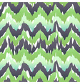 Seamless Camouflage Ogee in Ikat Weave Background vector image