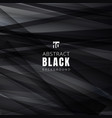 template black shapes triangles overlapping vector image vector image
