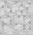 abstract honeycomb pattern geometric background vector image vector image