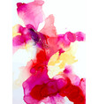 abstract watercolor art hand painted vector image vector image