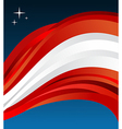 Austria flag background vector image vector image