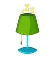 Lamp icon cartoon style vector image vector image