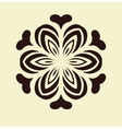 Oriental pattern vector image