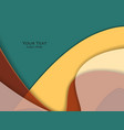 bright material design vector image vector image