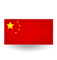 Chinese Flag vector image