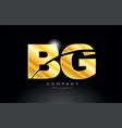 combination letter bg b g gold golden alphabet