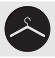 information icon - clothes hanger vector image vector image