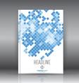 brochure design 1207 vector image