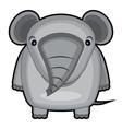 cartoon of a baby elephant vector image