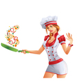 Cute Cook vector image