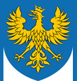 coat of arms of opole voivodeship in poland vector image vector image