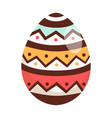 easter eggs in cartoon style vector image vector image