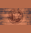 florida state seal brand vector image vector image
