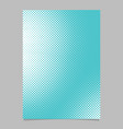 geometrical halftone dot pattern background page vector image vector image