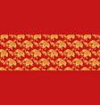 hohloma seamless pattern russian classic decor vector image