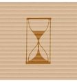 Hourglass icon symbol Flat modern web design with vector image vector image